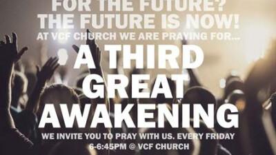 America:Prayer for a Third Great Awakening 6pm